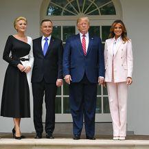 Melania Trump u odijelu Calvina Kleina - 4
