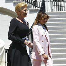 Melania Trump u odijelu Calvina Kleina - 5