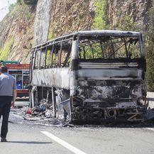 Zapalio se autobus koji je prevozio djecu na nogometni turnir (Foto: Nel Pavletic/PIXSELL) - 1