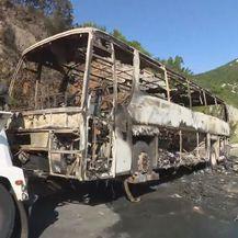 Autobus koji je izgorio na autocesti A6 (Foto: Dnevnik.hr) - 3