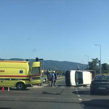 Prometna nesreća u Zagrebu (Foto: Dnevnik.hr)1