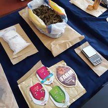 Pronalazak droge (Foto: PU brodsko-posavska)