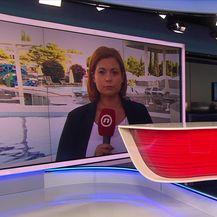 Sanja Jurišić razgovara s direktorom hotela u vodicam Darkom Bastićem o manjku radne snage (Video: Dnevnik Nove TV)
