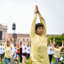 Međunarodni dan joge održan na Trgu kralja Tomislava (Foto: Josip Regovic/PIXSELL) - 15