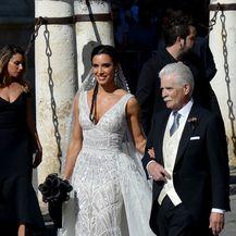 Vjenčanje Sergia Ramosa i Pilar Rubio (Foto:AFP)