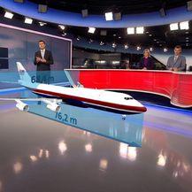 Novi dizajn predsjedničkog zrakoplova (Foto: Dnevnik.hr) - 2