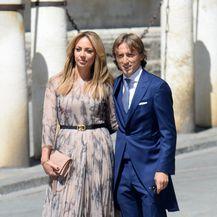 Vanja i Luka Modrić (Foto: AFP)