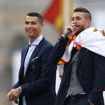 Ramos i Ronaldo (Foto: AFP)