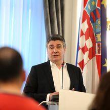 Zoran Milanović o svojoj kandidaturi za predsjednika RH (Foto: Luka Stanzl/PIXSELL) - 2