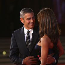 Elisabetta Canalis, George Clooney (Foto: Getty Images)