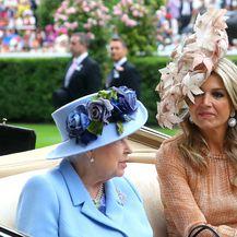 Britanska kraljica Elizabeta II. i nizozemska kraljica Maxima