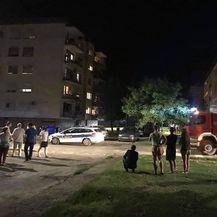 Eksplozija u Vinkovcima (Foto: Čitatelj)