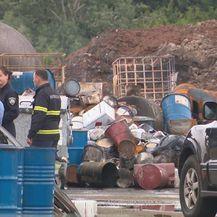 Sanacija požarišta u Grubišnom Polju (Foto: Dnevnik.hr) - 1