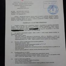 Građevinska dozvola za kuću od 60 kvadrata ministra Kuščevića (Foto: Dnevnik.hr)