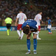 Razočarani Federico Chiesa (Foto: Jonathan Moscrop/Press Association/PIXSELL)