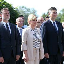 Polaganje vijenca na Mirogoju povodom Dana državnosti (Foto: Luka Stanzl/PIXSELL) - 4