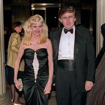Ivana i Donald Trump (Foto: AFP)