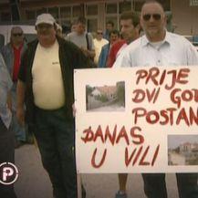Prosvjed protiv Lovre Kuščevića (Foto: Dnevnik.hr)