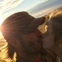 David Beckham i Harper (Foto: Instagram)