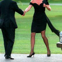 Diana u haljini grčke dizajnerice Christine Stambolian