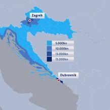 Cijene nekretnina u Hrvatskoj