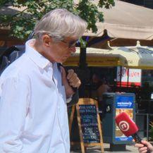 Tomislav Horvatinčić ispija kavicu na Cvjetnom