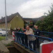 Generalni direktor Hrvatskih voda Zoran Đuroković posjetio poplavljeno područje