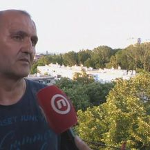 Petar Papac, predstavnik stanara izgorjele zgrade u Trnskom
