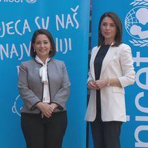 Regina M. Castillo, predstojnica Ureda UNICEF-a za Hrvatsku, i Marija Miholjek