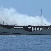 Požar brodice u Biogradu - 3