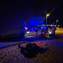 Maloljetnici se skuterom zabili u ženu s djecom pa pobjegli