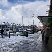 U Dublinu svega nekoliko centimetara snijega (Foto: Čitatelj)