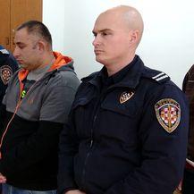 Nenad Šajnović na izricanju presude za napad na ekipu Provjerenog (Foto: Dnevnik.hr)