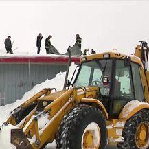 Ledena kiša i snijeg - novi problemi (Video: Vijesti u 17h)