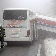 Prometna na državnoj cesti 8 Rupa-Pasjak (Foto: Nel Pavletic/PIXSELL) - 1