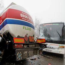 Prometna na državnoj cesti 8 Rupa-Pasjak (Foto: Nel Pavletic/PIXSELL) - 4