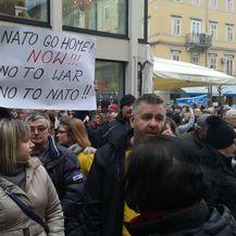 Prosvjed protiv LNG terminala (Foto: Marko Balen)