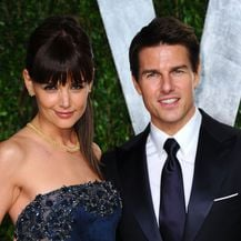 Tom Cruise i Katie Holmes (Foto: Getty)