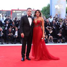 Matt Damon i Luciana Barroso (Foto: Getty)