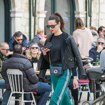Dama iz Dubrovnika pokazala je kako se trenirka može stilizirati za dnevne prigode