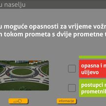 Aplikacija Autoškola (Foto: Screenshot/Zimo)