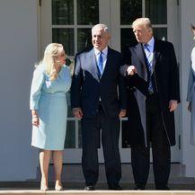 Sara Netanyahu, Benjamin Netanyahu, Donald Trump i Melania Trump
