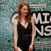 Nataša Janjić na svečanoj premijeri filma \'Comic Sans\' - 3
