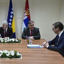 Sastanak trilaterale u Mostaru (Foto: Twitter)