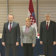 Sastanak trilaterale u Mostaru (Screenshot)