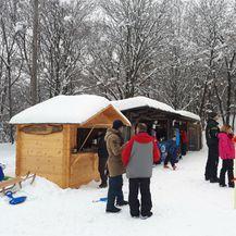 Skijanje na Hrastovačkoj gori - 1