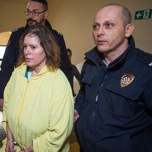 Vanessu Raney policajci dovode u sudnicu (Foto: Davor javorovic/Pixsell)