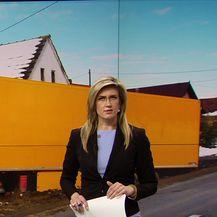Šleper sletio s ceste u dvorište obiteljske kuće (Video: Vijesti u 17 h)