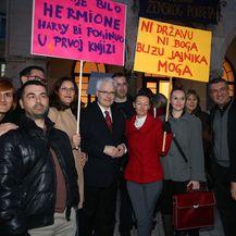 Noćni marš za Dan žena u Splitu (Foto: Ivo Cagalj/PIXSELL)