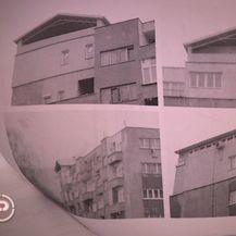 Zeničanin na stambenoj zgradi sagradio kuću (Foto: Dnevnik.hr) - 1